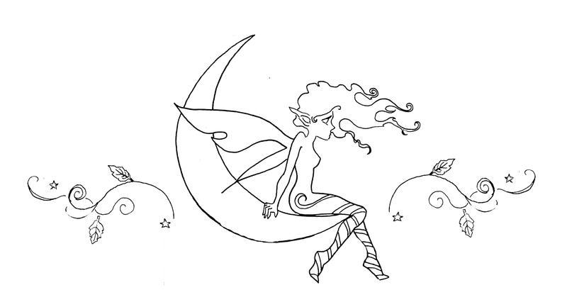 Fae Moon Tattoo by akatheToad