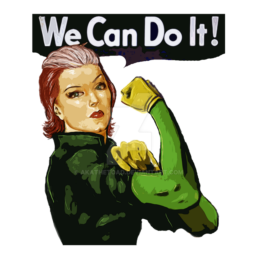Rogue the Riveter by akatheToad