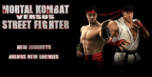 Mortal Kombat vs Street Fighter by ultimate-savage