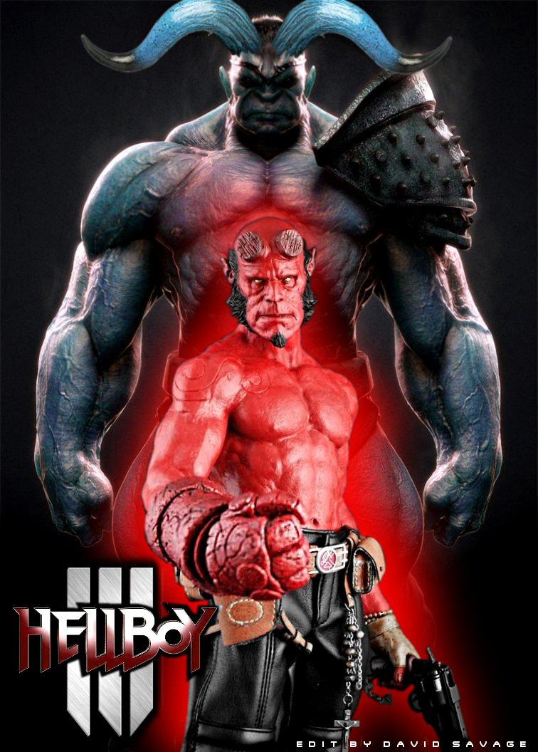 hellboy 3 poster by ultimatesavage on deviantart