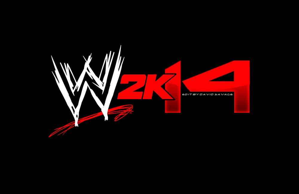 wwe 2k14 logo by ultimatesavage on deviantart
