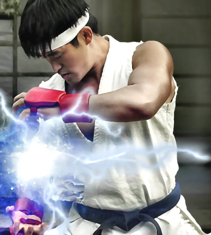 Street Fighter Ryu Hadouken By Ultimate Savage On Deviantart