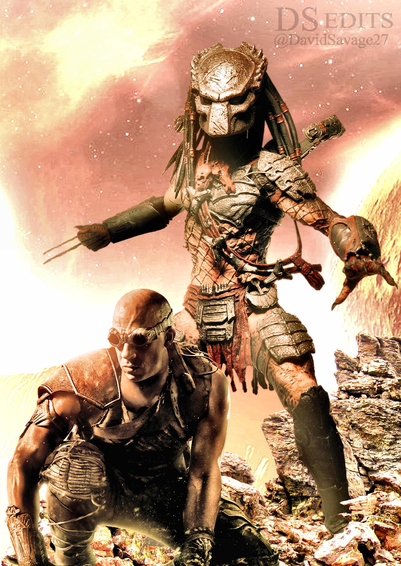Riddick X Predator by ultimate-savage on DeviantArt
