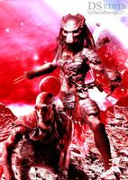 Riddick X Predator by ultimate-savage