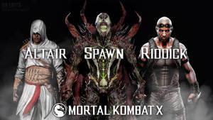 Mortal Kombat X: Altair Spawn Riddick