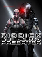 Riddick versus Predator by ultimate-savage