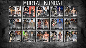 Mortal Kombat Reboot fan cast by ultimate-savage