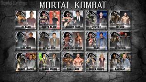 Mortal Kombat Reboot fan cast