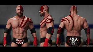 WWE 2K18 Triple H - The King Of War