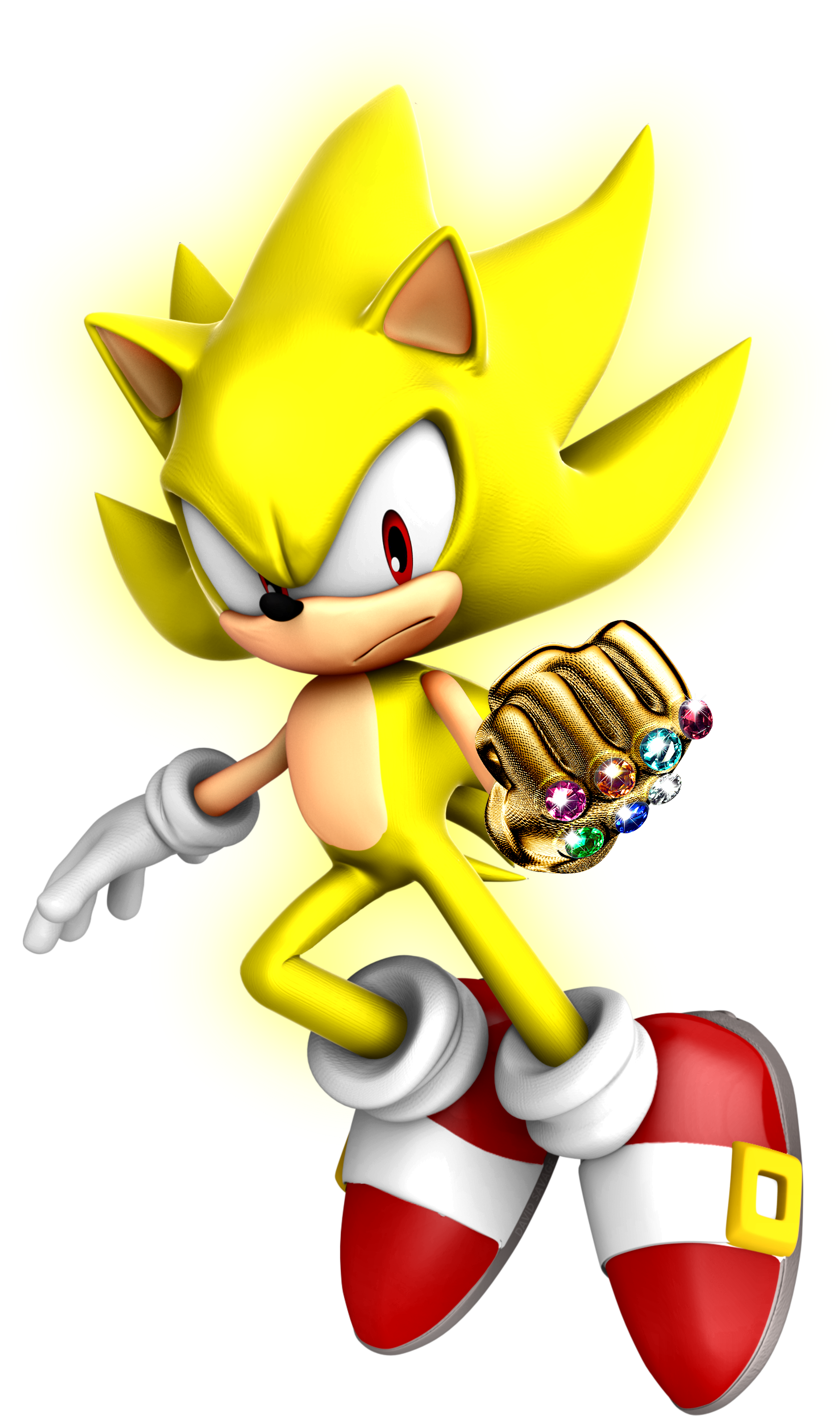 Super Sonic The Hedgehog And The Chaos Gauntlet By Ultimate Savage On Deviantart