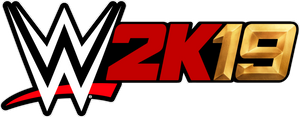 WWE 2K19 New Gold Logo