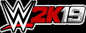 WWE 2K19 New Silver Logo
