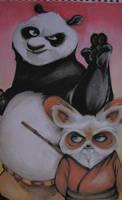 Po and Shifu by ChanChili