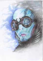 A for Abe Sapien by ChanChili