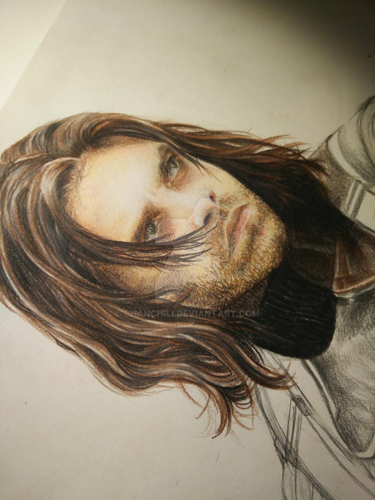 Bucky [WIP] by ChanChili