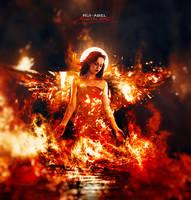 Angel of fire by Rui-Abel