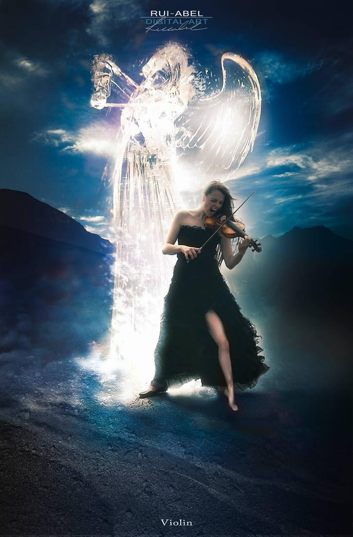 Violin by Rui-Abel