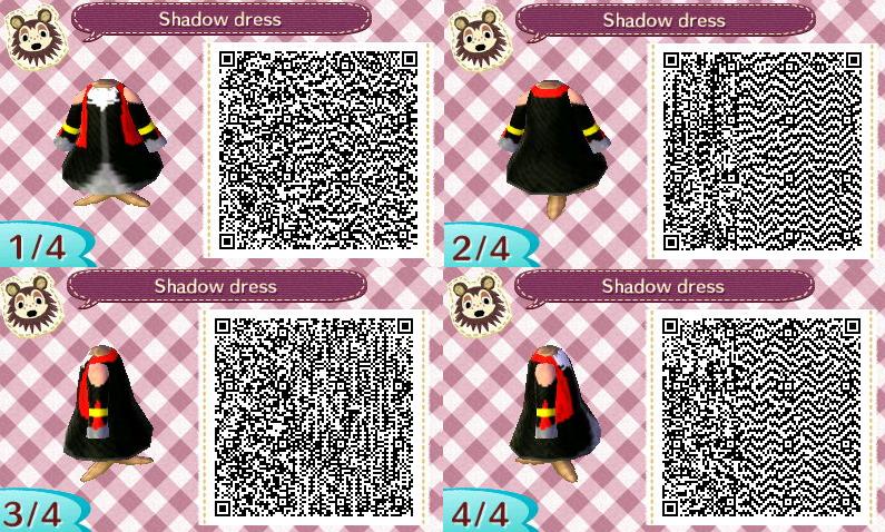 Shadow Dress Qr Codes By Aishlingchan On Deviantart