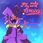 Jevil's Valentines card