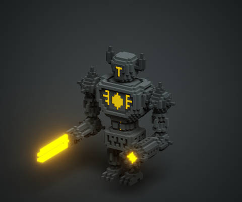 Voxel Robot Alternate