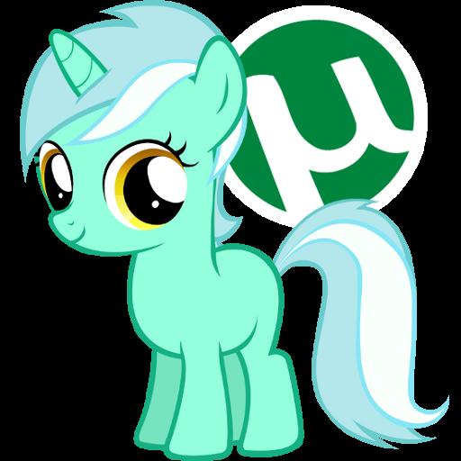 Utorrent Pony Icon by Nerve-Gas