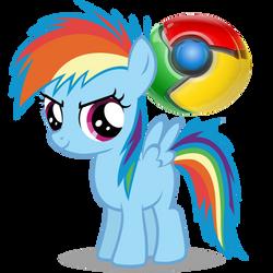 Pony Google Chrome icon (RBD)