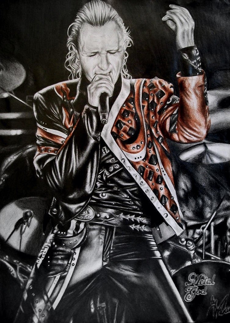 Rob Halford by LoudSilence93