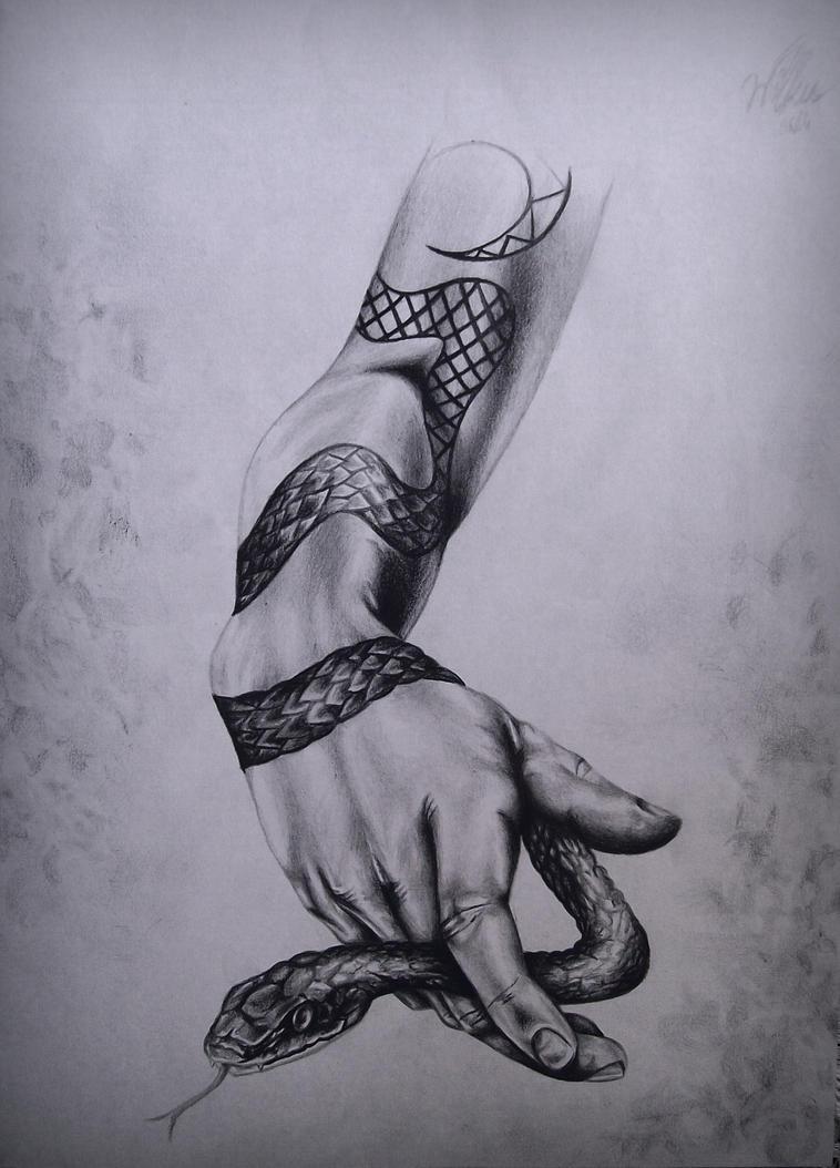 Handsssnake by LoudSilence93