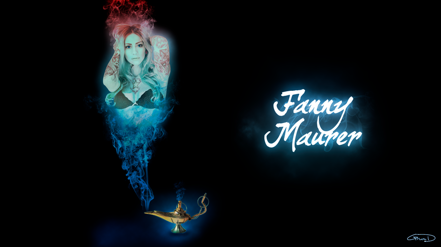 Fanny Maurer   Genie Of The Lamp By Grum D ...