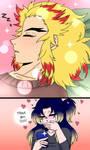 Yukari simps over her boyfriend (modern au) by Kuraichen13