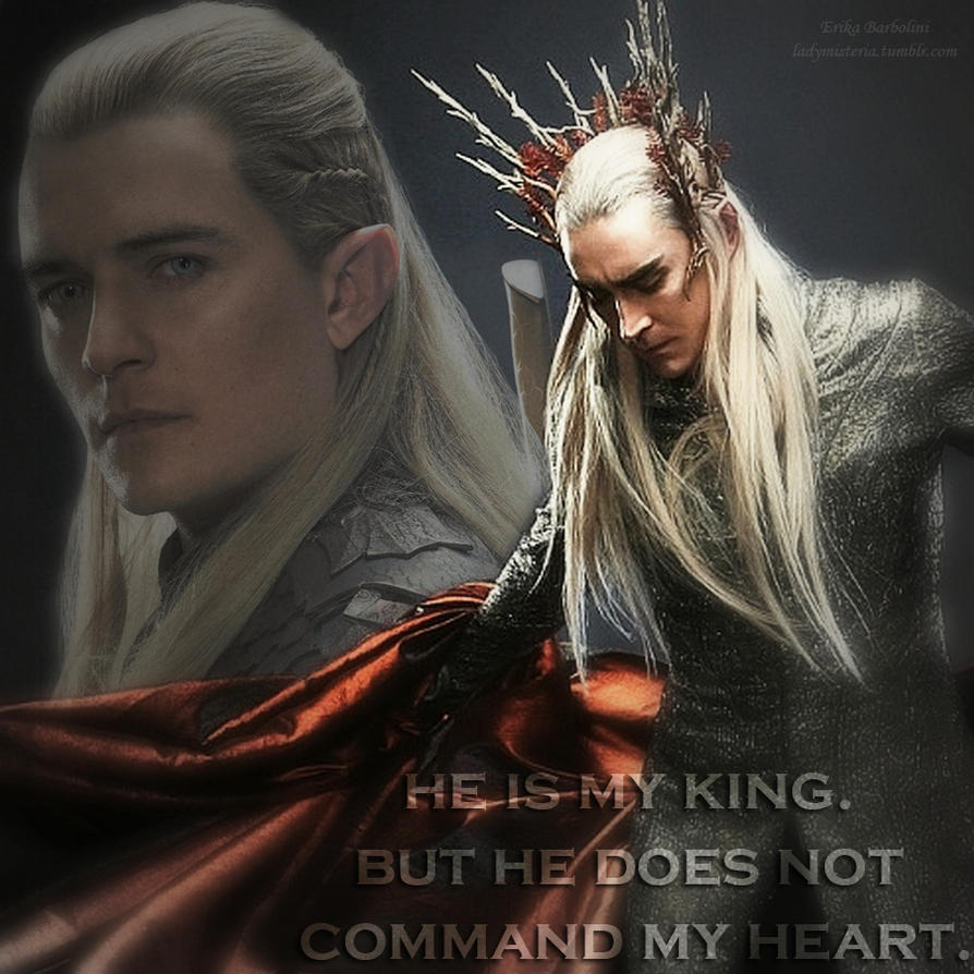 Legolas Wallpaper: Thranduil And Legolas. By Ladymisteria91 On DeviantArt