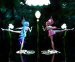 MMD Miku and Luka as Fairies