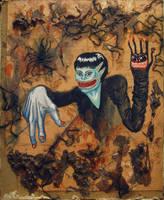 Two walking fingers by Dexter-the-scorpio