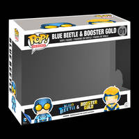 Blue Beetle  Booster Gold 2 Pack Concept by fourte3n