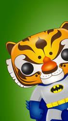 Tiger Batman 2 Pop Wall