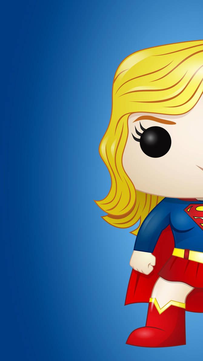 Super Girl Pop Wall