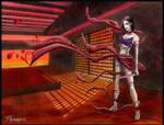 vampire assassin by FASSLAYER