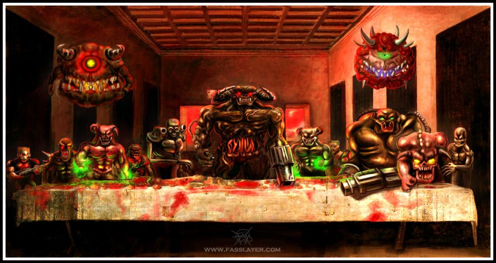 doom_s_last_supper_by_fasslayer-d1e7ek4.