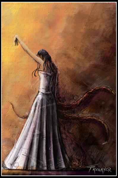 Monster girl by FASSLAYER