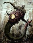hombre gusano infernal