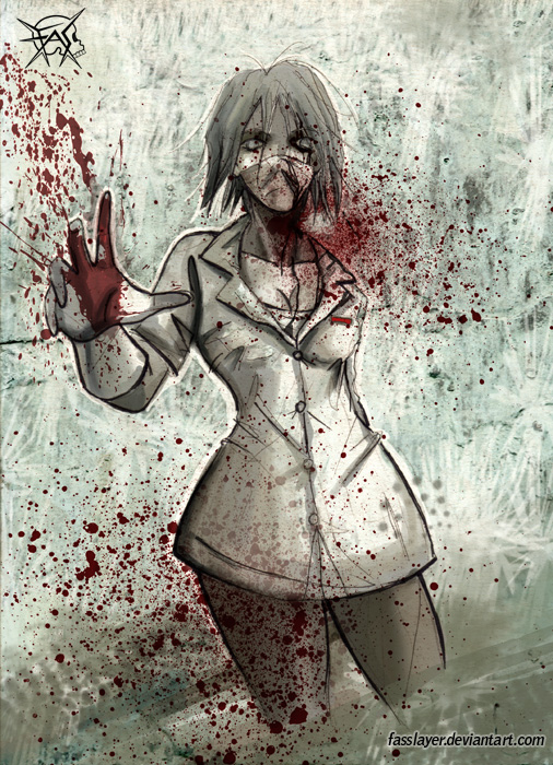zombie nurse 2 by FASSLAYER