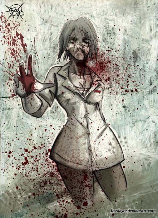 zombie nurse 2 by FASSLAYER