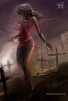 Zombie maiden 2 by FASSLAYER