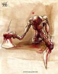 axe hands monster