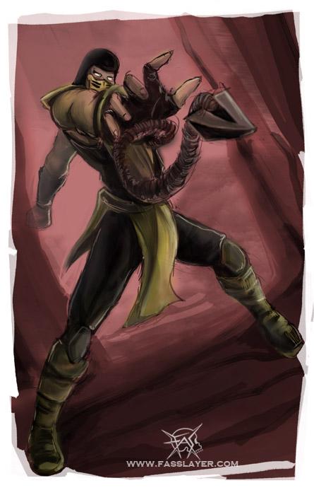 Scorpion 02 by FASSLAYER