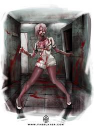 Zombie Nurse by FASSLAYER