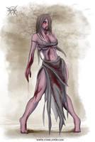 Sexy Zombie by FASSLAYER
