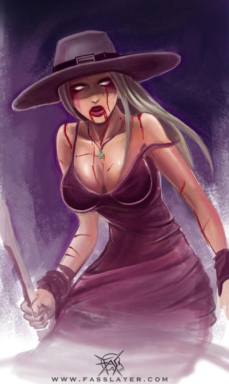 Zombie Witch by FASSLAYER