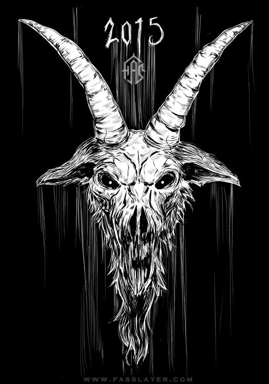 Year of the Goat - illustration and video by FASSLAYER