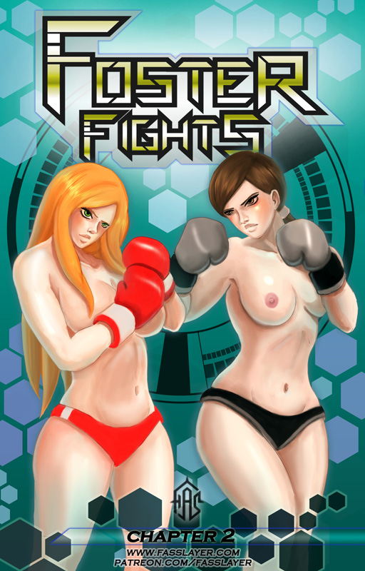 Foster Fights chapter 2 - cover by FASSLAYER